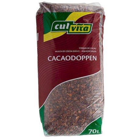 Cacaodoppen - 14 zakken 980 liter