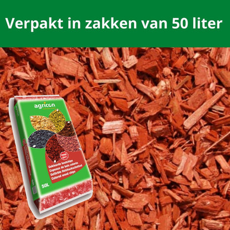 Houtsnippers Rood 1950 liter