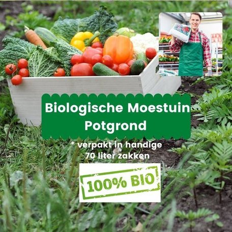 Biologische Moestuin Potgrond 1470 liter (21 x 70 liter)