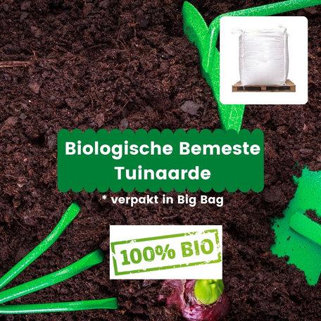 Biologische Bemeste Tuinaarde - 2m³ incl. bezorging (big bag)