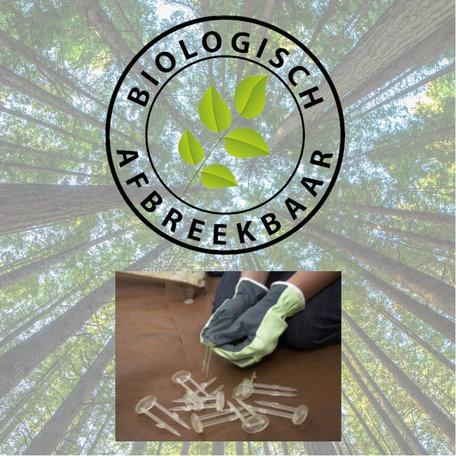Biologisch afbreekbare grondpinnen 12 stuks